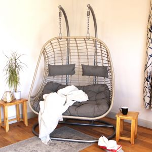Riga Double Hanging Egg Chair
