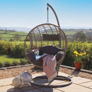 London Single Hanging Egg Chair