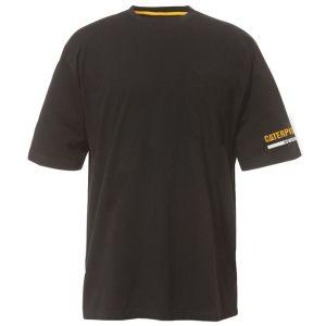 CAT Men's Essentials Short Sleeve Tee - Black