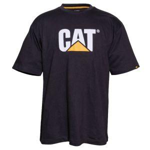 CAT Men's Trademark Logo T-shirt - Black