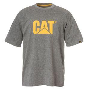 CAT Men's Trademark Logo T-shirt – Heather Grey