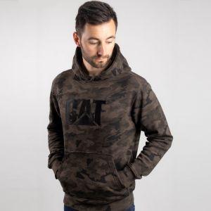 CAT Men's Trademark Hooded Sweatshirt - Camouflage