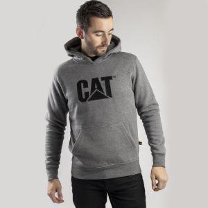 CAT Men's Trademark Hooded Sweatshirt - Heather Grey