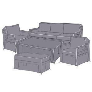 Hartman Apollo 7 Seater Lounge Set Protective Cover Set