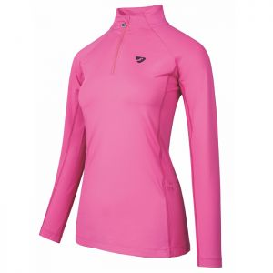Shires Aubrion Women's Newbury Long Sleeved Base Layer - Pink