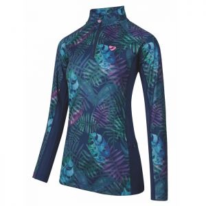 Shires Aubrion Women's Newbury Long Sleeved Base Layer - Tropical