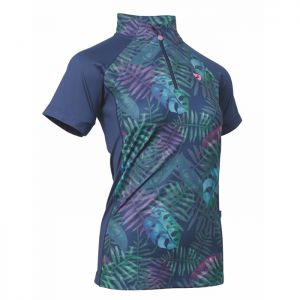 Shires Aubrion Women's Highgate Short Sleeved Base Layer - Tropical