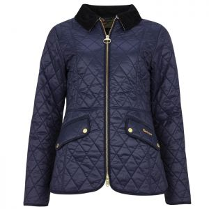 Barbour Women's Haydock Quilted Jacket - Navy