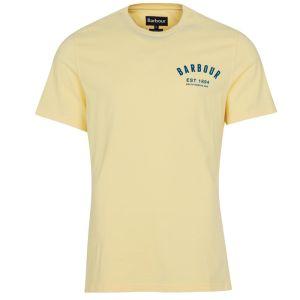 Barbour Men's Preppy T-Shirt - Corn