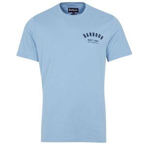 Barbour Men's Preppy T-Shirt - Powder Blue