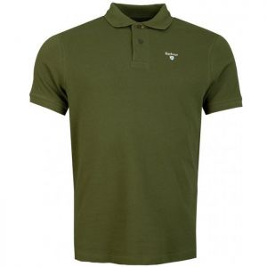 Barbour Men's Sports Polo - Rifle Green
