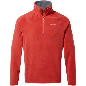 Craghoppers Men's Corey VI Half Zip Fleece - Pompeian Red