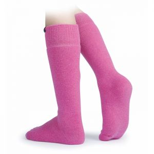 Shires Aubrion Colliers Boot Socks - Pink
