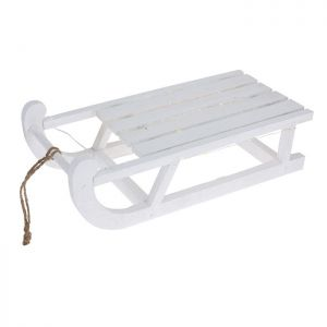 Pre-lit Sledge with Timer - 50cm