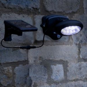 Smart Solar Wall Spotlight PIR Motion Activated