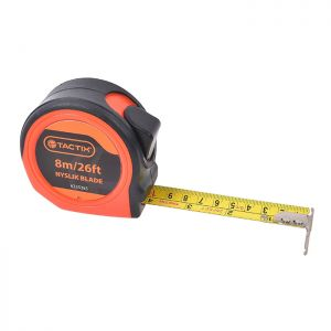 Tactix Nyslik Blade Tape Measure - 8m