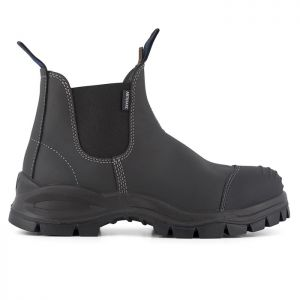 Blundstone 910 Safety Dealer Boots – Black Platinum