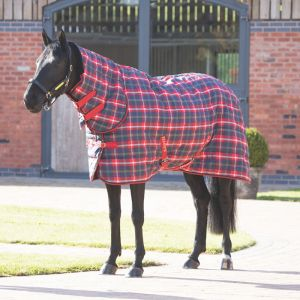 Shires Tempest Plus 200 Stable Combo Rug - Red Check