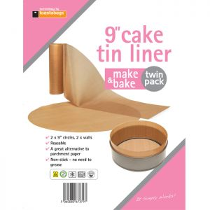 Planit Products Cake Tin Liner – 9 inches