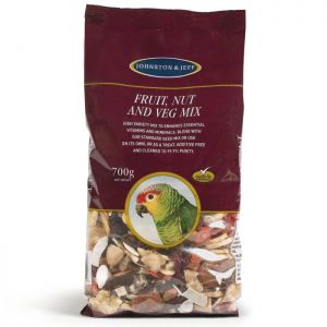 Johnston & Jeff Cage Birds Fruit Nut and Veg Mix - 700g