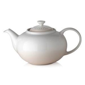 Le Creuset Stoneware Classic Teapot, 1.3l - Meringue