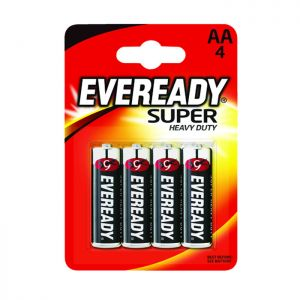 Eveready Super 4AA - 4 Pack