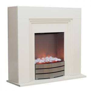Mansion Abingdon Electric Fireplace - 2kW