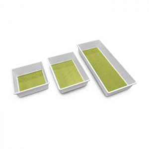Addis Drawer Tidy, 3 Pack – White / Green