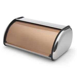 Addis Roll Top Bread Bin - Copper