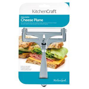 KitchenCraft Deluxe Adjustable Cheese Planer