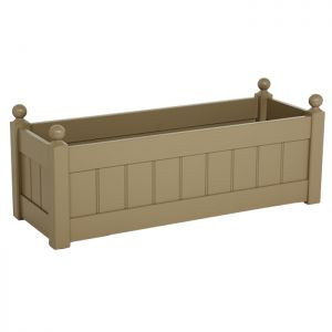 AFK Classic Wooden Trough, Nutmeg - 34in