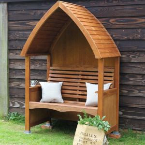 AFK Cottage Stained Arbour – Beech Wood
