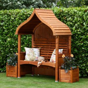 AFK Orchard Stained Arbour – Beech Wood