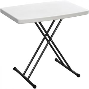 Blow Moulded Folding Table with Adjustable Height