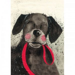Alex Clark Tea Towel - Red Lead