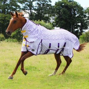 Gallop All in One Combo Fly Rug - Bees & Butterflies