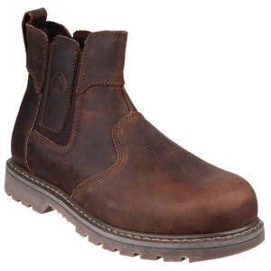 Amblers Men's FS165 Safety Dealer Boots - Brown