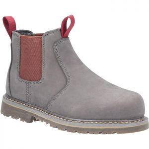 Amblers Women's AS106 Safety Sarah Dealer Boots - Grey