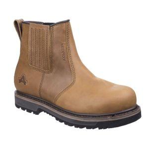 Amblers Men's AS232 Safety Dealer Boots - Tan