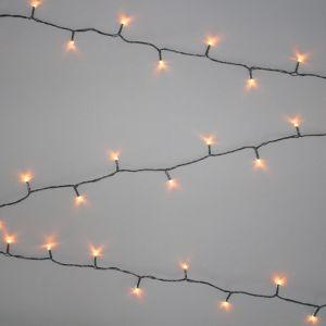NOMA 360 Multi Function String LED Lights, Antique White - 35.9m