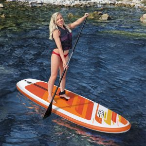 Bestway Hydro-Force Aqua Journey Inflatable Stand Up Paddle Board - 9ft