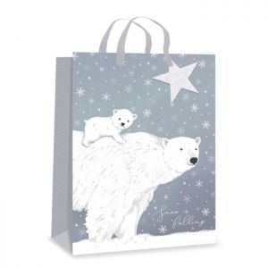 Arctic Polar Bear Gift Bag - Extra Large