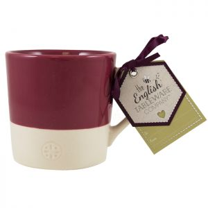 English Tableware Co. Artisan Two Tone Mug - Raspberry