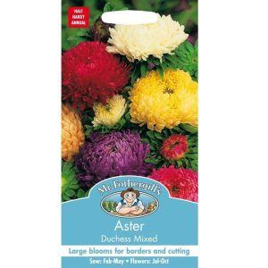 Mr Fothergill's Mixed Aster Duchess Seeds