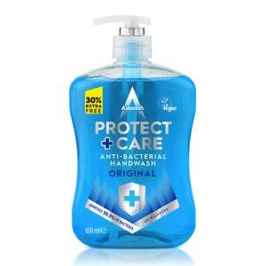 Astonish Protect & Care Anti-bacterial Handwash, Original - 650ml