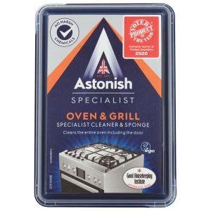 Astonish Oven & Grill Specialist Cleaner & Sponge - 250g