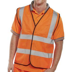 B-Seen High Vis Vest - Orange