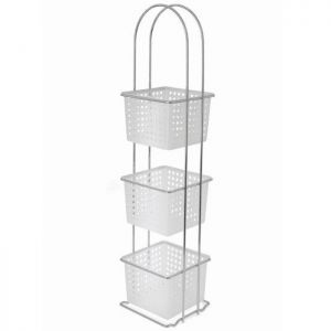 Blue Canyon 3 Tier Bathroom Basket Rack