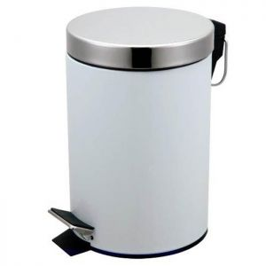 Blue Canyon Pedal Bin - 3 Litre, White