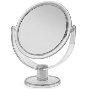 Blue Canyon Round Cosmetic Mirror
